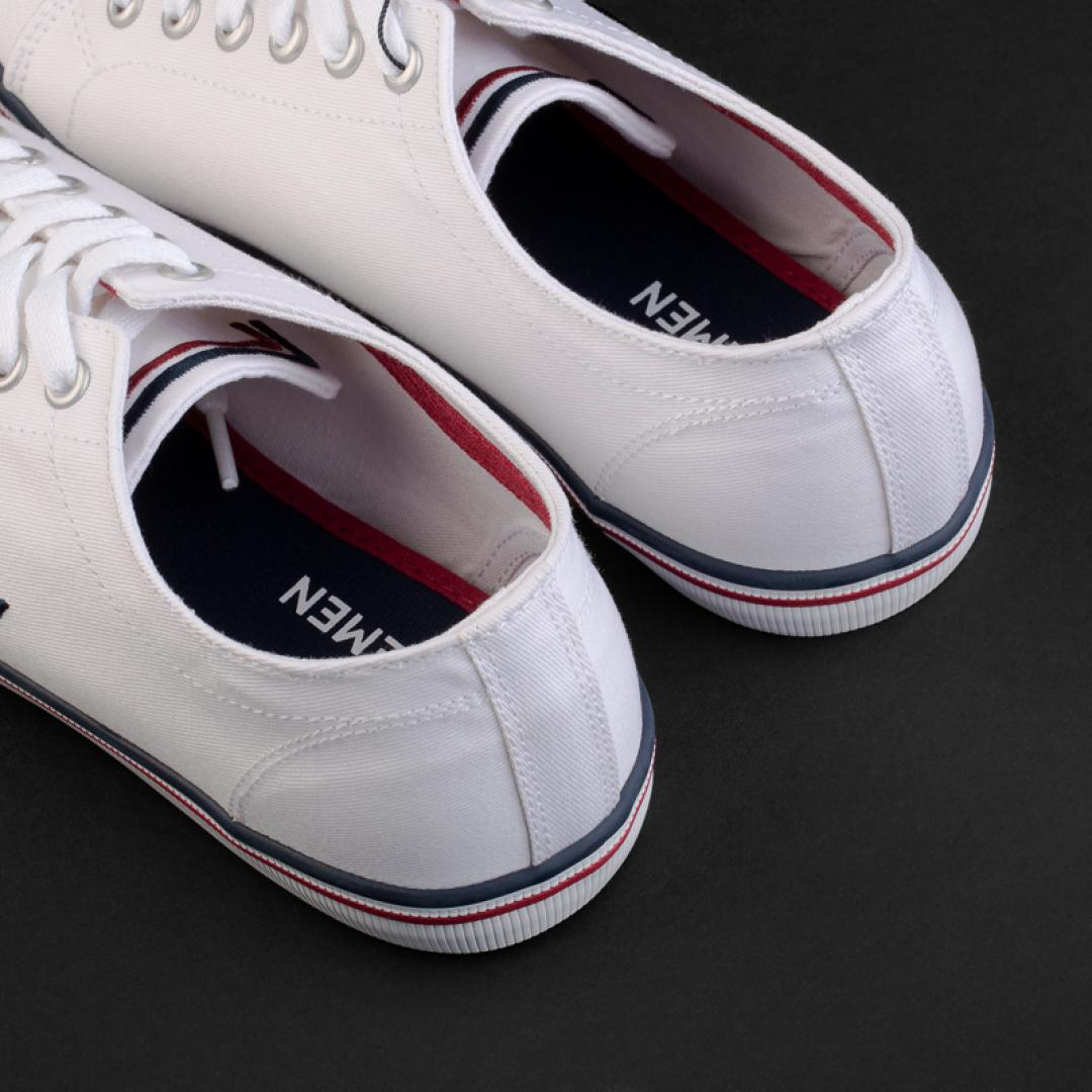 حذاء لورمان أبيض بأربطة 2336