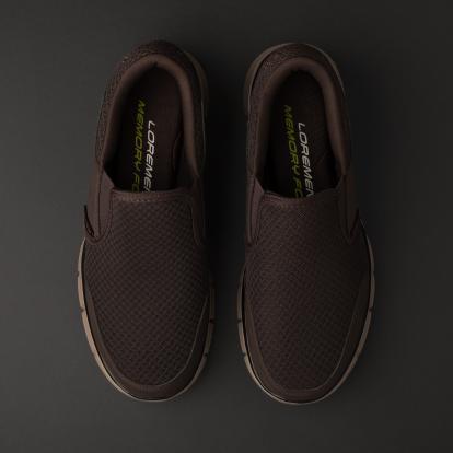 حذاء لوفر بني 1419