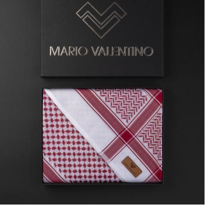 شماغ ماريو فالنتينو أحمر الجديد SVBR13