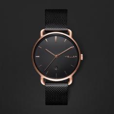 ساعة ميلر أسود ومينا أسود W3R-2BLACK