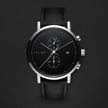 ساعة ميلر أسود ومينا أسود 4PN-1BLACK