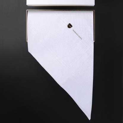 شماغ فرانشيسكو دانتي أبيض F.D-W