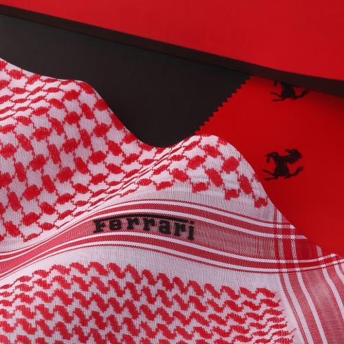 شماغ فيراري أحمر FER-R