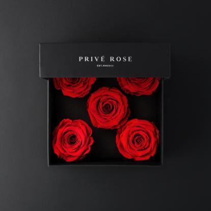 باقة ورد بريفي روز أحمر PRR28