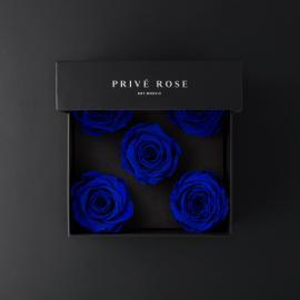 باقة ورد بريفي روز أزرق PRU29
