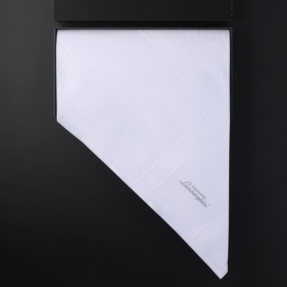 شماغ لامبورغيني أبيض LAM-W