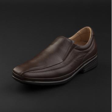 حذاء ساباتوتيرابيا رسمي جلد بني داكن 44410