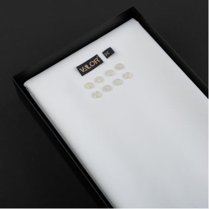 قماش فالور أبيض VAL1414W