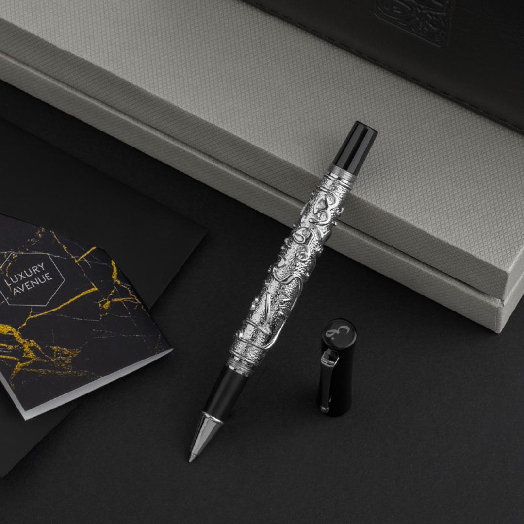 قلم الضاد الفضي