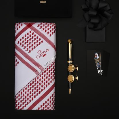 طقم جنيفا ايليت مع قلم وكبك نيتو ماراني S110GB (حصري )