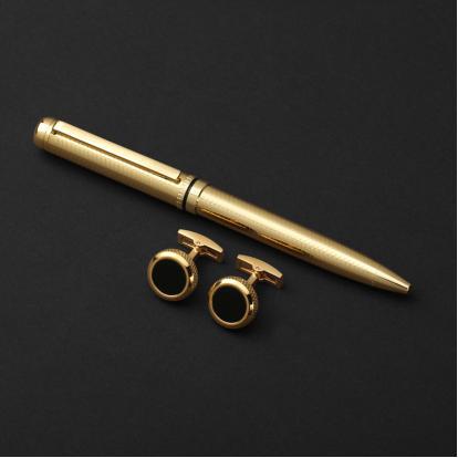طقم جنيفا ايليت مع قلم وكبك G522