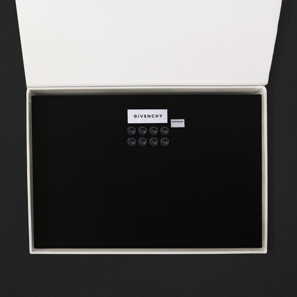 قماش جيفنشي الشتوي أسود 10369