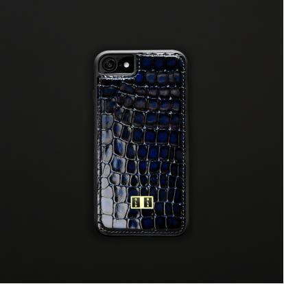 5b7568c57e452 كفر ايفون 7   8 جلد ميلانو أزرق 11194