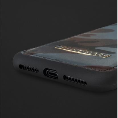 كفر ايفون XS MAX جلد جيشي 110163