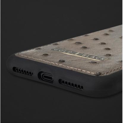 كفر ايفون XS MAX جلد نعام 110133