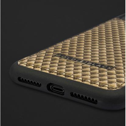 كفر ايفون XS MAX جلد ثعبان 110186