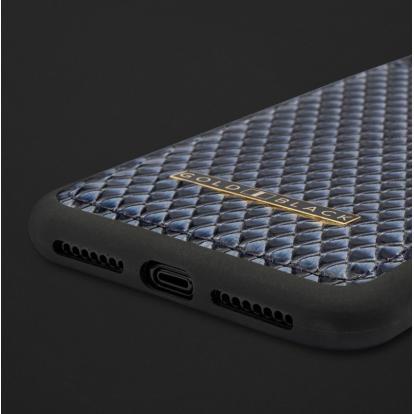 كفر ايفون XS MAX جلد ثعبان 110184