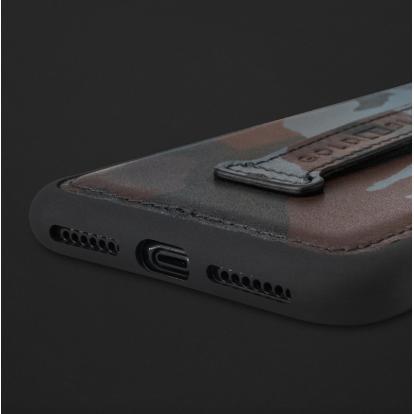 كفر ايفون XS MAX هولدر جلد جيشي 110263