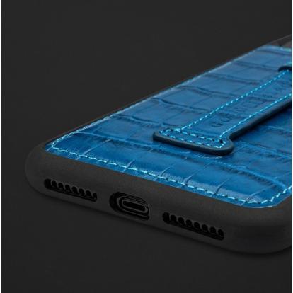 كفر ايفون XS MAX هولدر جلد تمساح 110214