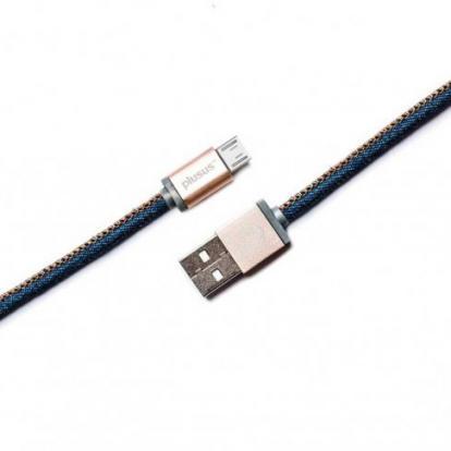 لايف ستار شاحن جوال للأندرويد جينز ازرق  Micro USB