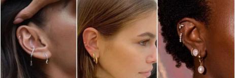 موديلات أقراط الأذن الأكثر شيوعاً