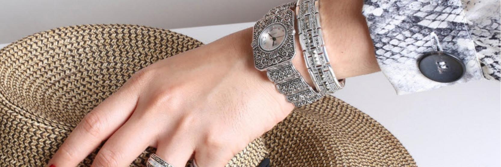 أفكار لإرتداء ساعة اليد  بأناقة