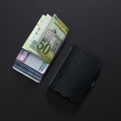 محفظة آي-كليب الذكية (ادفانتج اسود )