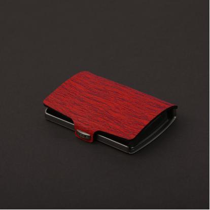محفظة آي-كليب الذكية أحمر نباتي
