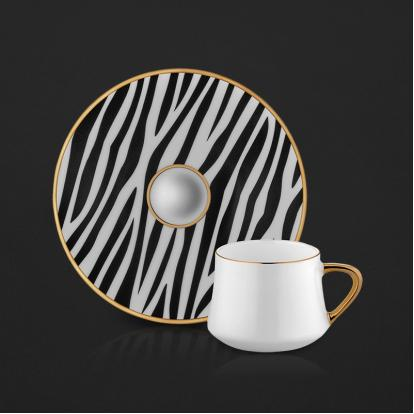 طقم فناجين قهوة زيبرا 1170