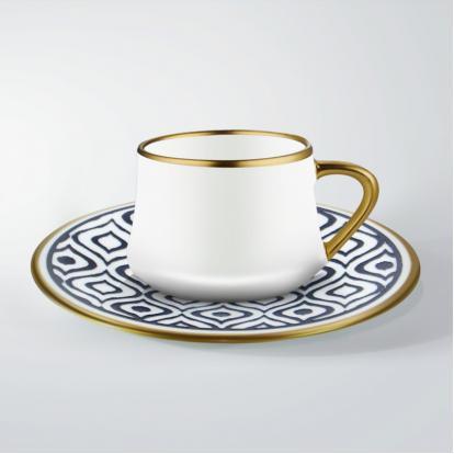 طقم فناجين قهوة ايكات كويل 0306