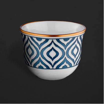 طقم فناجين قهوة عربية ايكات كويل 0489