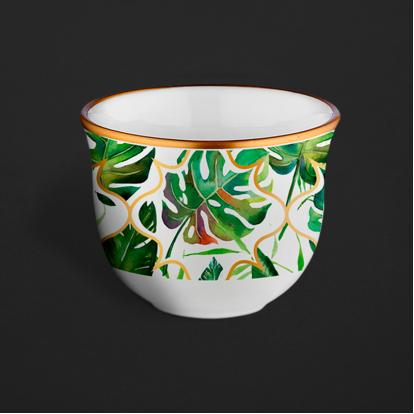 طقم فناجين قهوة عربية اكويتور 1266