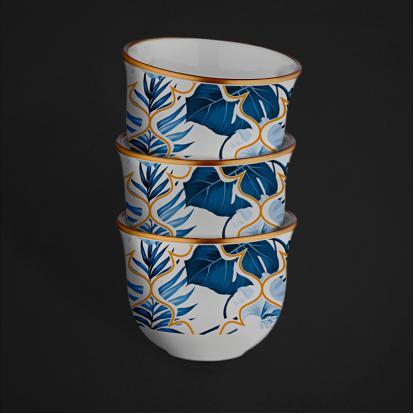 طقم فناجين قهوة عربية امازون بلو 1269