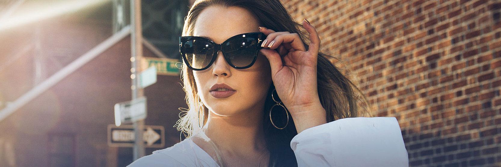 نشأة النظارات الشمسية