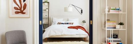 أفضل الطرق لتأثيث غرفة النوم الضيقة