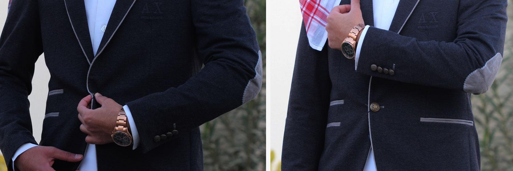 8e1e3ec8b جاكيت رسمي رجالي على الثوب السعودي تناسب اطلالتك لفصل الشتاء