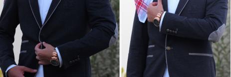 جاكيت رسمي رجالي على الثوب السعودي تناسب اطلالتك لفصل الشتاء