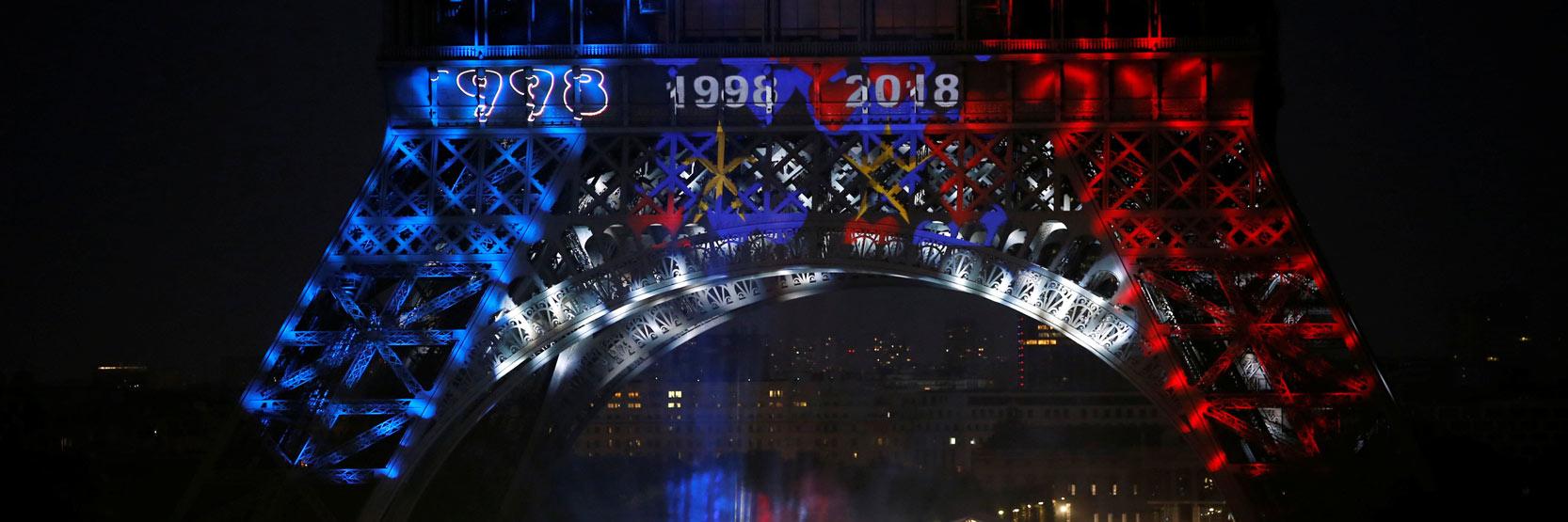 فرنسا تتوج بكاس العالم لعام 2018