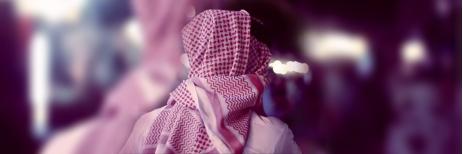 طريقة لبس الشماغ في السعودية