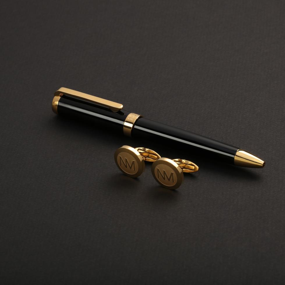 طقم نيتو ماراني أسود ذهبي - S105GB