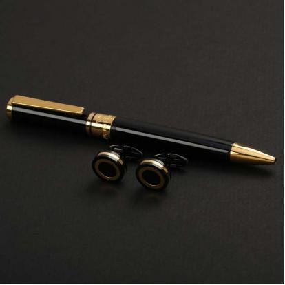 نيتو ماراني طقم أسود ذهبي - S111GB