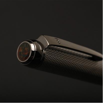 قلم نيتو ماراني اسود مع حجر مخلوط P117MD
