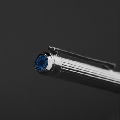 قلم نيتو ماراني لون فضي أزرق - P106SU