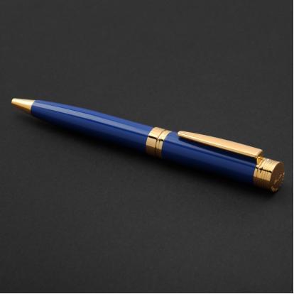 قلم نيتو ماراني ذهبي أزرق - P100GU
