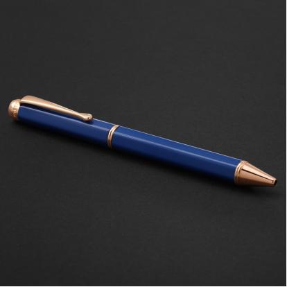 قلم نيتو ماراني ذهبي روز أزرق - P104RU