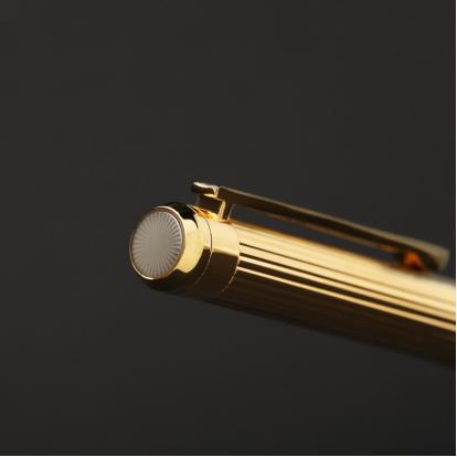 قلم نيتو ماراني ذهبي أبيض - P106GW