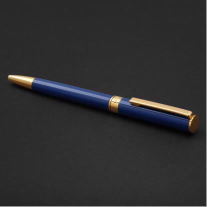 قلم نيتو ماراني ذهبي أزرق غامق - P107GD