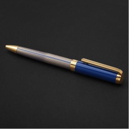 قلم نيتو ماراني ذهبي أزرق غامق - P109GD