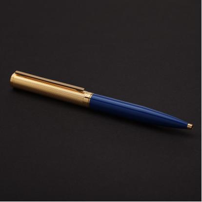 قلم نيتو ماراني ذهبي أزرق - P114GU