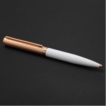 قلم نيتو ماراني ذهبي روز أبيض - P114RW